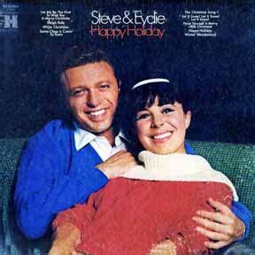 lawrence steve gorme eydie happy holiday harmony records  christmas vinyl