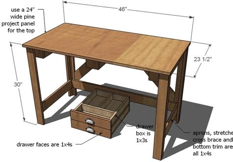simple desk plans simple wood desk plans free benefits woodworking plans