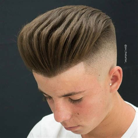 combover how to side shaved haircut with comb over haircuts models ideas