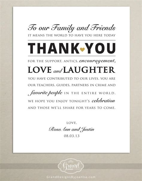 Wedding Reception Thank You Card Template by Custom Size Wedding Reception Thank You Card Wedding