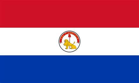 Teh Celup Bendera paraguay