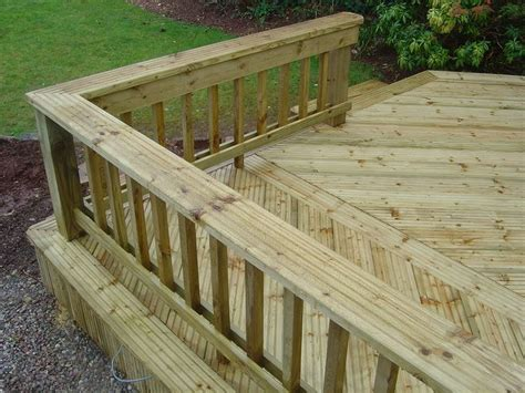 decking banister decking railings outside decorating pinterest