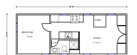 small house trailer floor plans caretaker cottage heirloom handbuilt exle floorplan