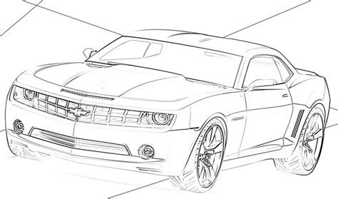 69 Coloring Page by 69 Chevelle Ss Car Drawings Coloring Pages