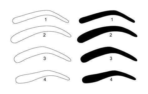 eyebrow templates printable eyebrow stencils carisoprodolpharm