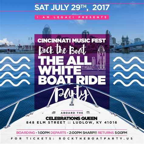 rock the boat 2020 rock the boat 2017 ludlow tickets