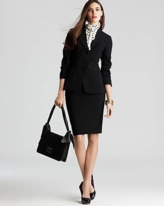 Mariana Dress Polka Black elie tahari suit another corporate gig