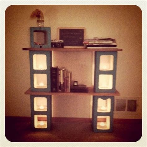 Block Shelf | cinder block shelf cinder block pallet projects pinterest