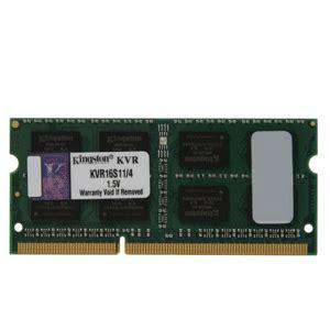 Sodim 4gb Ddr3 Pc12800 kingston 4gb ddr3 pc12800 1600 kvr16s11 4 sodimm laptop memory villman computers