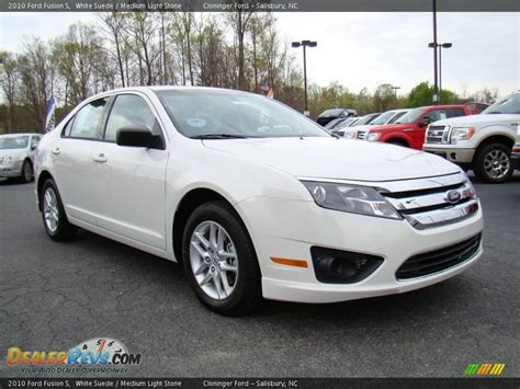2010 ford fusion light 2010 ford fusion s white suede medium light photo