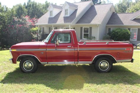 1976 Ford F100 by 1976 Ford F100 Ranger Xlt For Sale Photos Technical