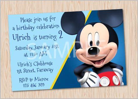 free disney birthday invitation maker free character birthday invitation maker ankaperla
