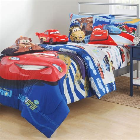 lighting mcqueen bed sheets disney cars track burn twin bedding set lighting mcqueen