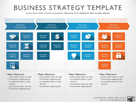 strategy presentation templates free powerpoint template strategy