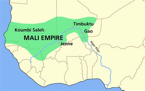africa map mali mali