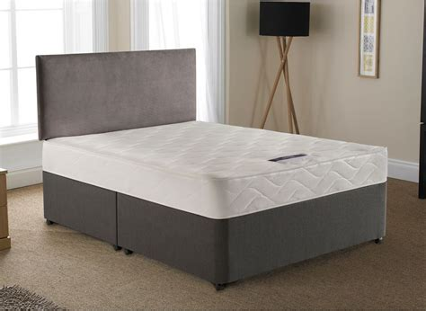 divan bed with headboard silentnight lyndhurst open spring divan bed medium dreams