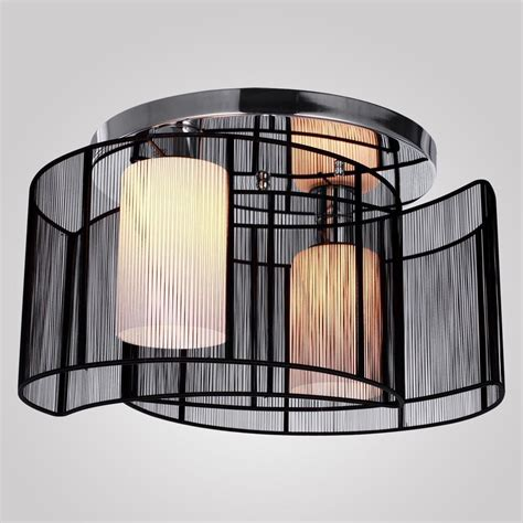 Ceiling Mount Chandelier Light Fixture Modern Black Ceiling Pendant 2l Lighting Chandelier Semi Flush Mount Fixture Ebay