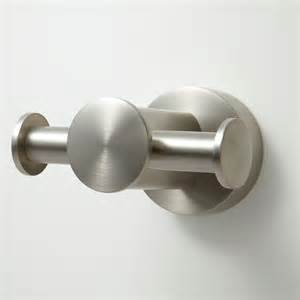 Modern Door Knockers prague double robe hook bathroom