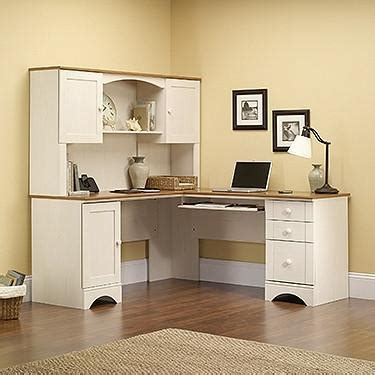 white l shaped desk with hutch white antiqued l shaped corner desk with included hutch