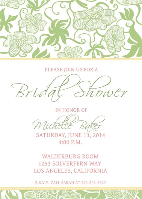 free printable bridal shower invitations templates bridal shower invitations bridal shower invitations free