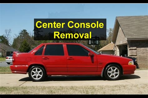 2000 volvo v40 center console removal center console removal for shifter light bulb replacement volvo s70 v70 v70 xc etc votd