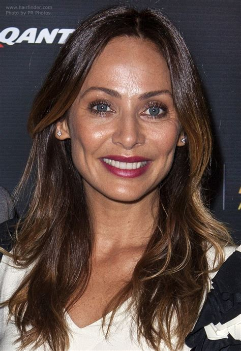 Natalie Imbruglia Long Hair With An Ombre Coloring Pictures