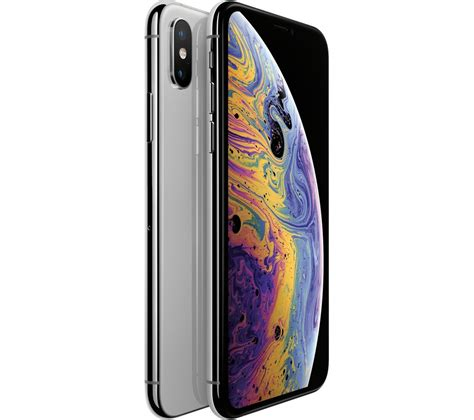 buy apple iphone xs  gb silver  delivery currys