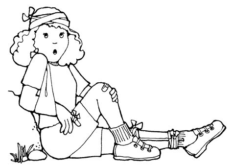 first aid coloring pages for kids coloring home
