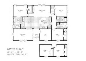 Floor Plans For 40x60 House by 9595 Marlette 40x60 4br 2372sq Ft