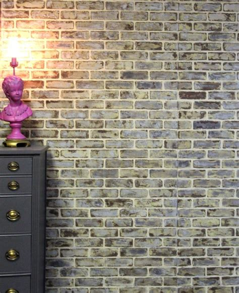 fake exposed brick wall 10 diy faux and real exposed brick walls shelterness