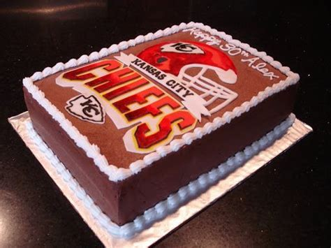 17 Best images about Kansas City Chiefs Cakes on Pinterest