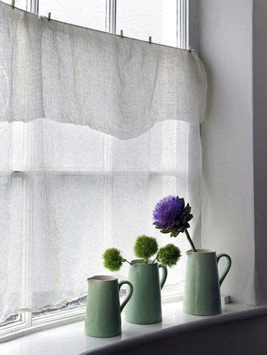 draping fabric over curtain rod linen like curtains draped over rod and pinned