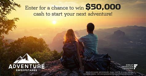 Gac Sweepstakes - gac sweepstakes win 50k for your next adventure