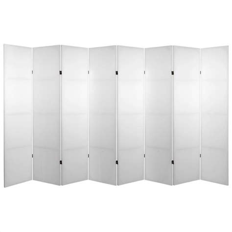 Canvas Room Divider Do It Yourself Canvas Room Divider With 8 Panel In White C Blank 8p