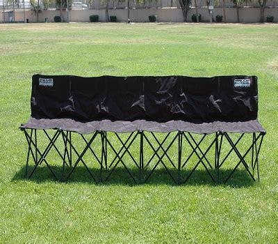 folding sports bench folding sports bench 6 seaters fold a goal