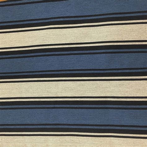 navy blue upholstery fabric navy blue white herringbone striped upholstery drapery