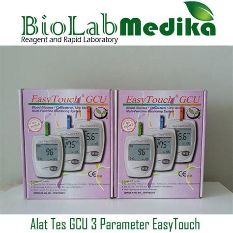 Alat Tes alat tes gcu 3 parameter easytouch biolab medika