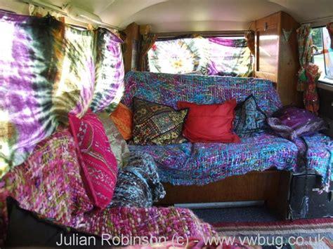 pink volkswagen van inside volkswagen van hippie interior