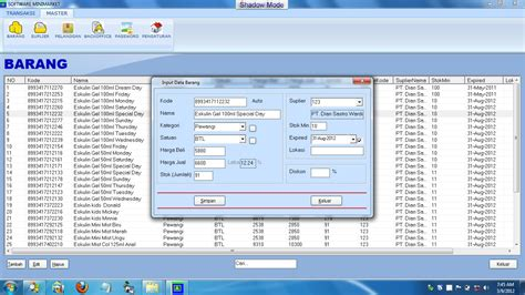 Aplikasi Kasir Software Minimarket Toko Retail software minimarket