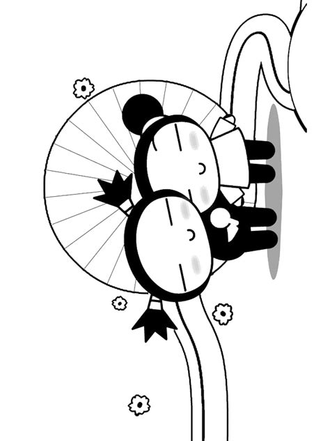 pucca coloring pages coloringpages1001 com
