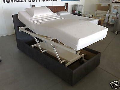 new electric adjustable nursing home hospital beds with memory foam mattress ebay