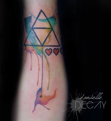 watercolor tattoo vermont watercolor triforce by originalmagzi on deviantart