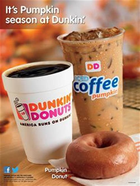 Dunkin Donuts Pumpkin Coffee by Dunkin Pumps Up Pumpkin Season Marketing 08 17 2015