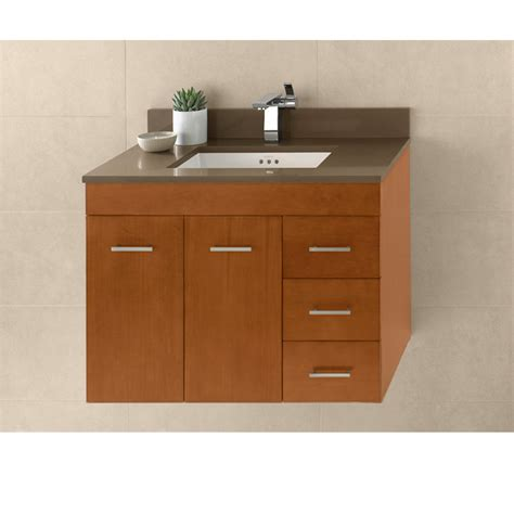 bathroom vanity ronbow ronbow bella 31 quot vanity undermount cinnamon free