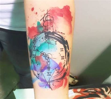 watercolor tattoo stockholm best 25 pocket tattoos ideas on