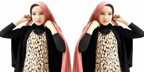 tutorial hijab turban untuk ke pesta tutorial hijab turban layer www imgkid com the image