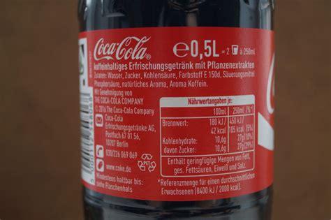si鑒e coca cola konsumenten kennen die zutaten in coca cola nicht aber