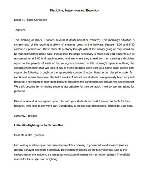 letter to parents template 9 parent letter templates free sle exle format