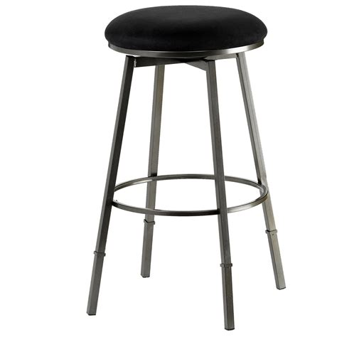 Akron Adjustable Height Bar Stool by Hillsdale Backless Bar Stools Sanders Adjustable Backless