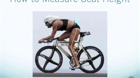 bicycle seat height